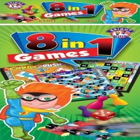 BPI BRIGHT KIDS 8 IN 1 BOARD GAMES - 5975 - BRIGHT KIDS Board Game