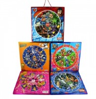 Kreative Kids 2 In 1 Magnetic Dart Board With Snakes And Ladders - Superman Board Game
