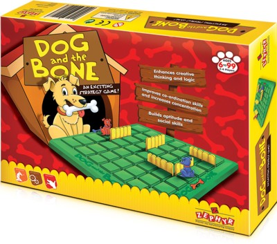 Zephyr Board Games Zephyr Dog and the Bone An Exciting Strategy Board Game