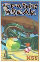 Atlas Mad Scientist University Spring Break Board Game