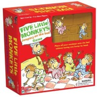 University Games Five Little Monkeys Jumping On The Bed Game Board Game