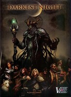 Victory Point Games Darkest Night Euro 9 Coop Fantasy Boxed Board Game