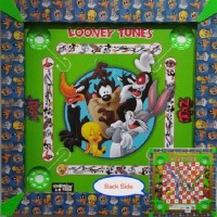 Kreative Kids 2 In 1 Carrom (17 Inch) - Looney Tunes Board Game