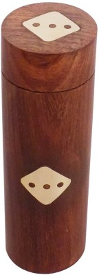 Crafts'man Board Games Crafts'man Handmade Wooden Dice Set 5.5 inches Board Game
