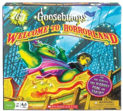 Ideal Board Games Ideal Goosebumps Welcome To Horrorland Board Game