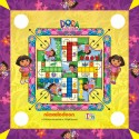 Itoys Dora The Explorer Small Carrom Board Game
