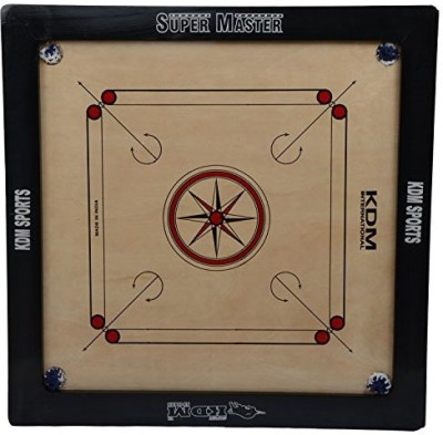 KDM Sports Super Master 1.5 inch Carrom Board available at Flipkart for Rs.5499