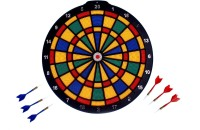 Shape N Style New Dashing Look Dart Game 70 Cm Dart Board (Multicolor)