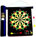 Tennex Magnetic Dart Board T-003 48 Cm Dart Board - Black, Yellow