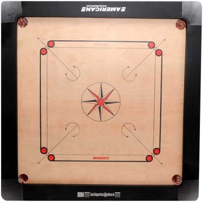 BSM Match 32 inch Carrom Board available at Flipkart for Rs.2800