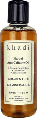 Khadi Herbal Anti Cellulite Oil (Paraben Free) - 210 Ml