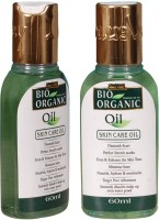 Indus Valley Bio Organic Skin Care Oil (Twin Pack) (120 Ml)