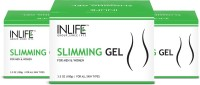 INLIFE Slimming Gel, (3 Pack 100 Gm Each), With Garcinia Cambogia For Inch Loss (300 G)