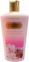 Victoria's Secret Strawberry Champagne Hydrating Body Lotion (250 Ml)