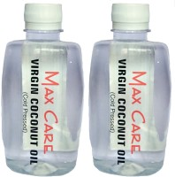 Maxcare Virgin Coconut Oil 500ml (Pack Of 2 - 250ml Each) (500 Ml)