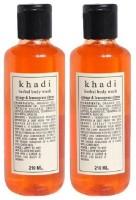 Khadi Herbal Orange And Lemongrass Citrus (420 Ml)