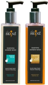 Sheer Skinz Body Wash Indian Musk , Almond Honey