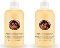 The Body Shop Cocoa Butter Shower Cream Pack Of 2 (250 Ml)