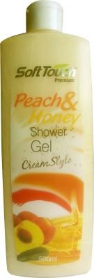 Soft Touch Peach & Honey Shower Gel Cream Style