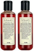 Khadi Herbal Sandalwood & Honey Soothing Body Wash (420 Ml)