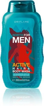 Oriflame Sweden North For Men Active Hair & Body gel
