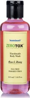 Healthbuddy Zerotox Handmade Body Wash Rose & Honey, 210 Ml (210 Ml)