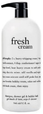 Philosophy Fresh Cream Shampoo & Bubble Bath All In One (960 Ml)