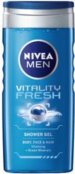 Nivea Vitality Fresh Shower Gel for Men