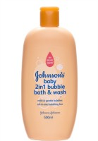 Johnsons Baby 2 In 1 Bubble Bath & Wash (500 Ml)