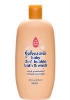 Johnsons Baby 2 In 1 Bubble Bath & Wash (500 Ml)