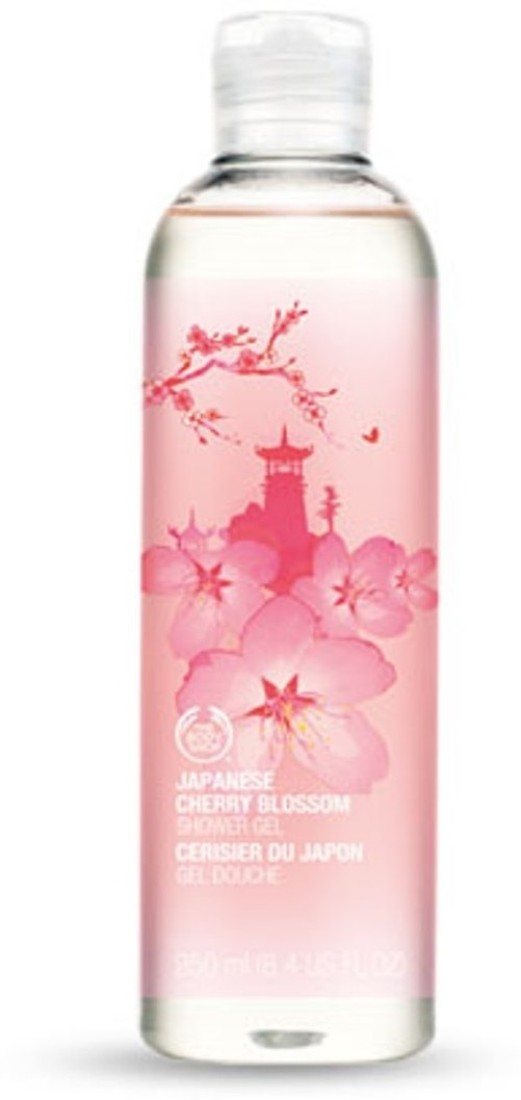 The Body Shop Japanese Cherry Blossom Shower Gel Price