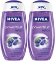 Nivea Powerfruit Relax Shower Gel (Pack Of 2) - 500 Ml