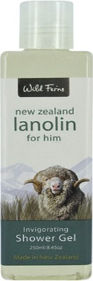 Wild Ferns Lanolin for Him Invigorating Shower Gel
