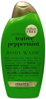 Organix Org Tea Tree Peppermint Body Wash