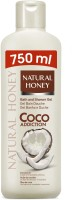 Natural Honey Coconut Oil Shower Bath Gel (750 Ml)