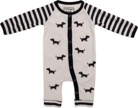 LIL PENGUIN Baby Boy's BLACK AND WHITE Bodysuit