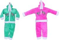 Tiny Toon Baby Boy's Embroidered Top & Pyjama Set