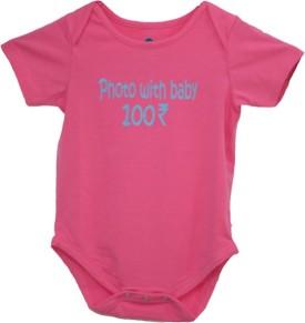 Blue Bus Store SLOGAN T-SHIRTS Baby Boy's Bodysuit - BOLE45WZBCHGF3FV