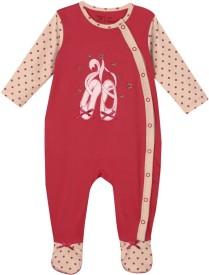 Mom&Me Baby Girl's Sleepsuit