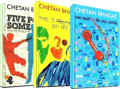 Buy Chetan Bhagat Combo Of 3 Books: Book