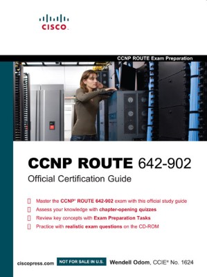 Buy CCNP ROUTE 642-902 Official Certification Guide (With CD) (English) 1st Edition: Book