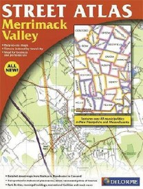 Merrimac Valley & Vicinity Street Atlas: Area Includes Strafford, Nottingham, and Raymond Through Concord, Hooksett, Manchester and Nashua (USA StreetFinder atlases) (English) (Paperback)