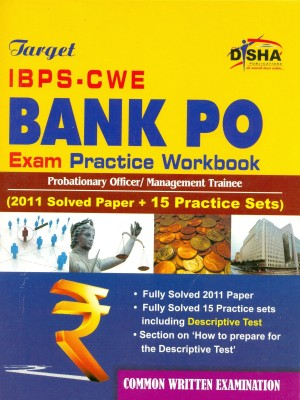 Buy Target IBPS-CWE Bank PO Exam With Practice Workbook: Book