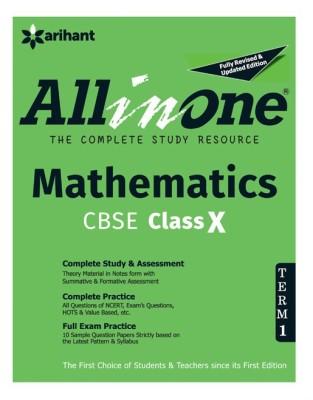 Cbse All-In-One Mathematics 10th Term-I (English) 3 Edition price comparison at Flipkart, Amazon, Crossword, Uread, Bookadda, Landmark, Homeshop18