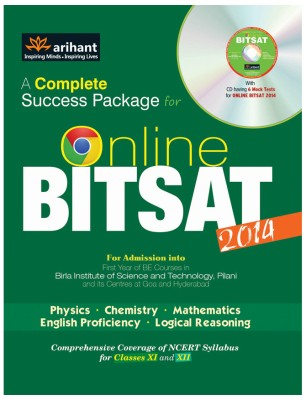 Buy A Complete Success Package for Online BITSAT 2014 (With CD) : Comprehensive Coverage of NCERT Syllabus for Classes 11 and 12 4th Edition: Book