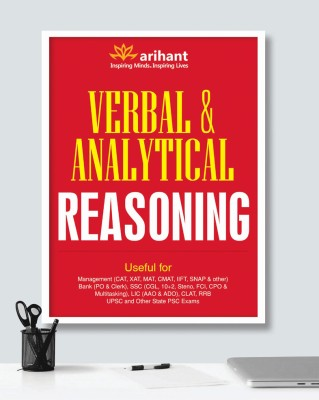 Verbal & Analytical Reasoning (English) price comparison at Flipkart, Amazon, Crossword, Uread, Bookadda, Landmark, Homeshop18