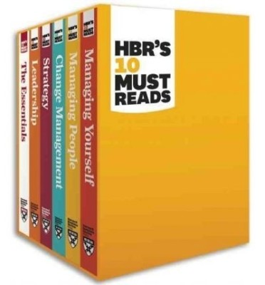 Buy HBR's 10 Must Reads (English) Boxed Set ( Set of 6 Volumes ) Edition: Book