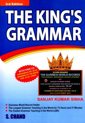 Buy The King's Grammar 3 Edition: Book