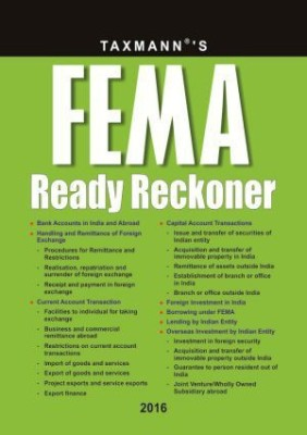 Fema Ready Reckoner (English)