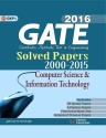 GATE - Computer Science & Information Technology 2016 : Solved Papers 2000 - 2015 (English) 2016 Edition: Book
